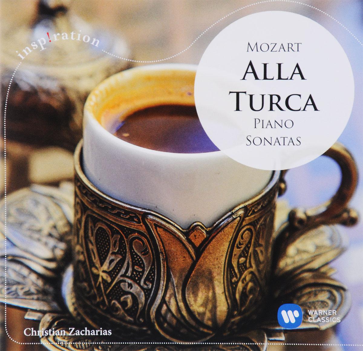 Кристиан Захариас Christian Zacharias. Mozart. Alla Turca. Piano Sonatas mozart s music of friends