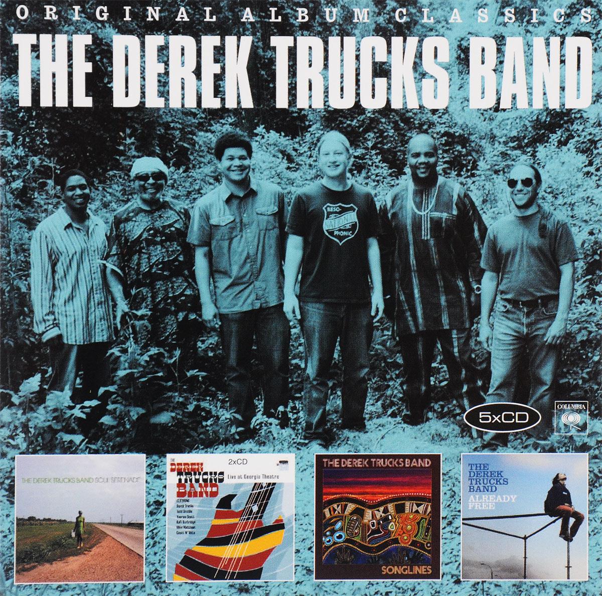 The Derek Trucks Band The Derek Trucks Band. Original Album Classics (5 CD) original meibo wood grain dial pu leather band analog clock fashion