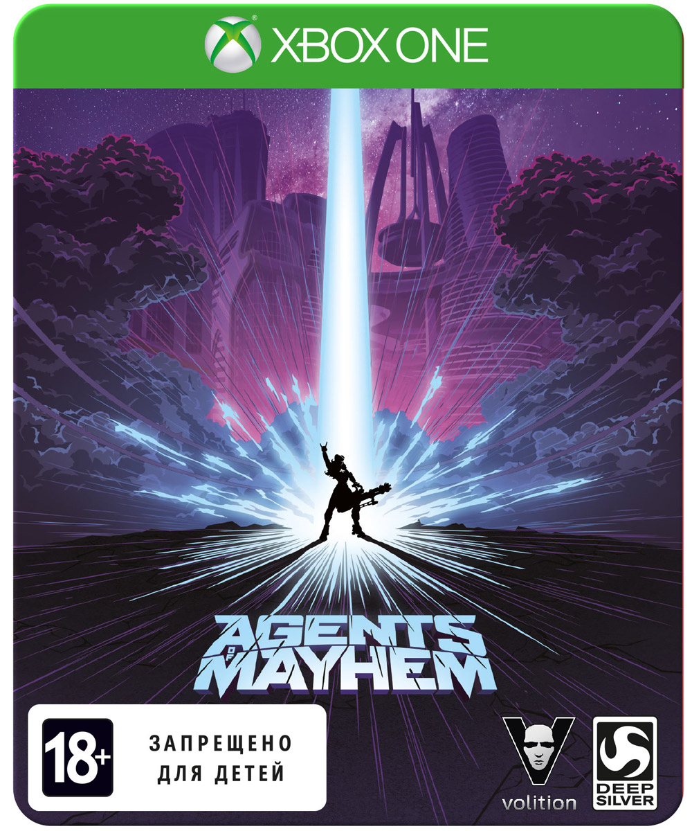 Agents of Mayhem. Steelbook Edition (Xbox One)
