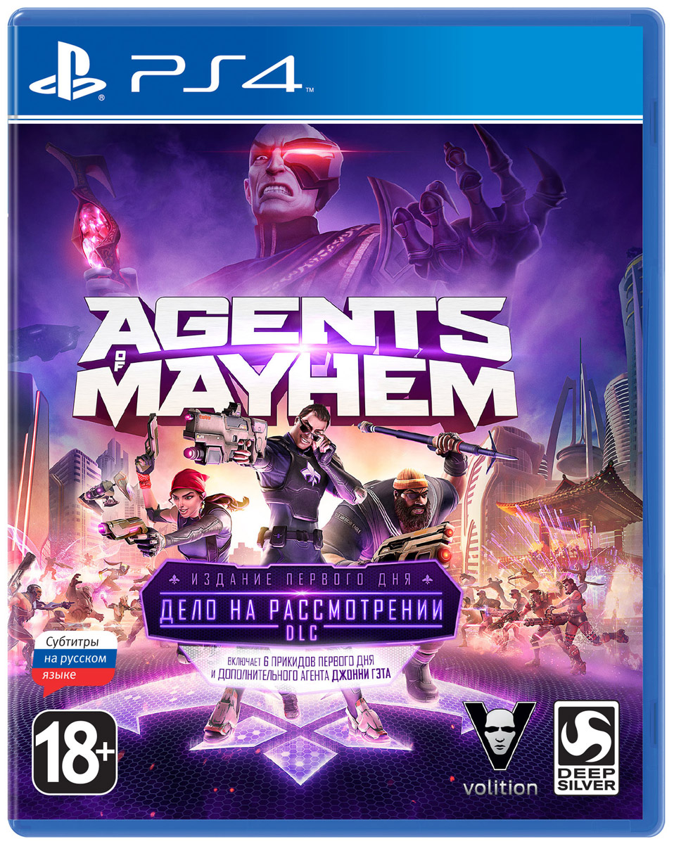 Agents of Mayhem. Издание первого дня (PS4) agents of mayhem издание первого дня игра для xbox one