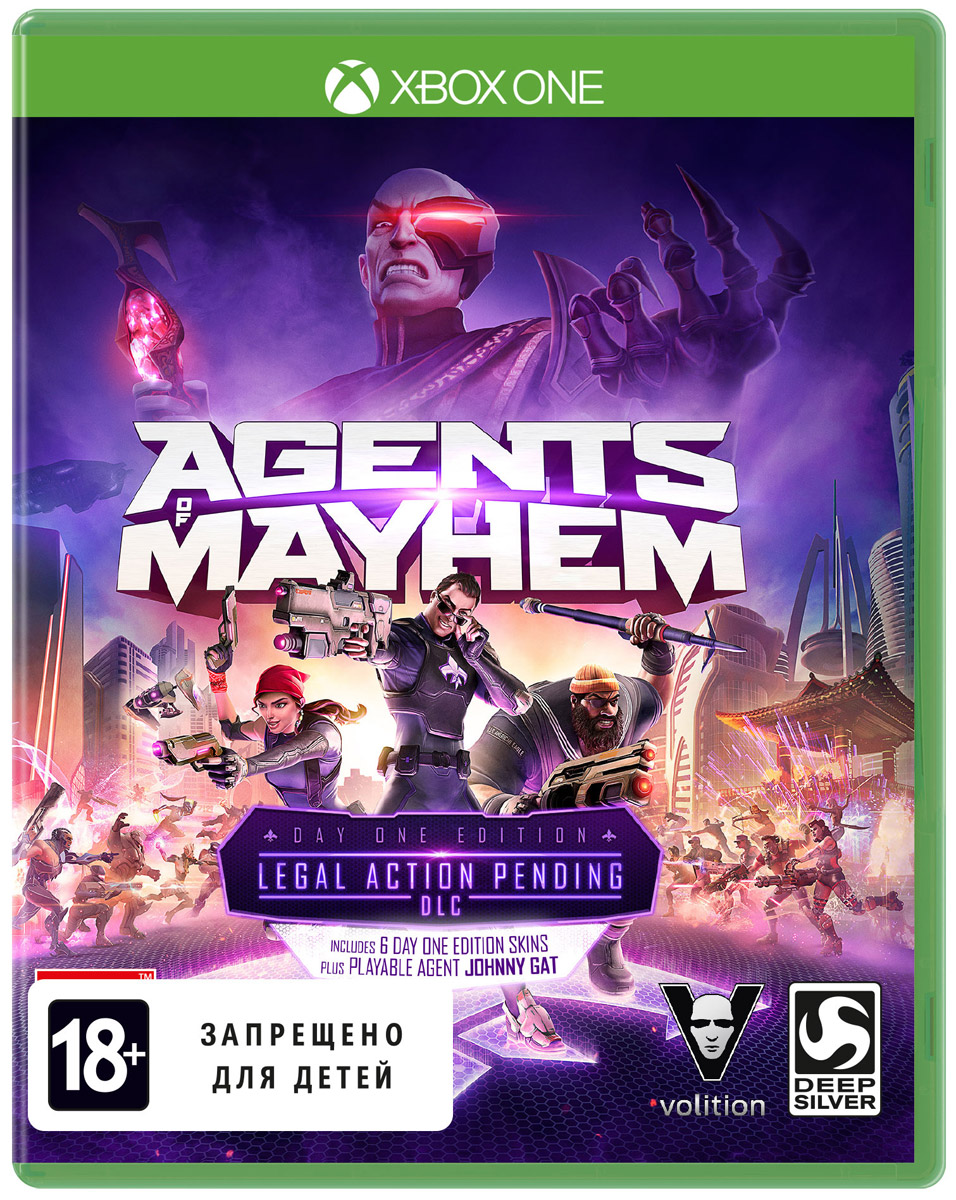 Agents of Mayhem. Издание первого дня (Xbox One) agents of mayhem steelbook edition [xbox one]