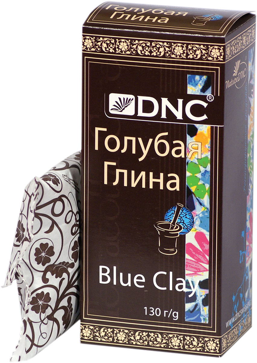 DNC Глина косметическая голубая 130 г728769Голубая глина - уникальное природное экологически чистое терапевтическое и косметическое средство по уходу за кожей, за ногтями и волосами. Глина содержит минеральные соли и микроэлементы, в которых мы нуждаемся, а именно: кремнеем, фосфат, железо, азот, кальций, магний, калий, радий и т. д., причем в весьма хорошо усваиваемой человеческим организмом форме. Глина содержит все необходимые нашему организму минеральные соли и микроэлементы в наилучшим образом усваиваемых организмом пропорциях и сочетаниях. Голубая глина обладает очищающими свойствами, дезинфицирует кожу. Активизирует кровообращение и усиливает процесс обмена в клетках кожи.