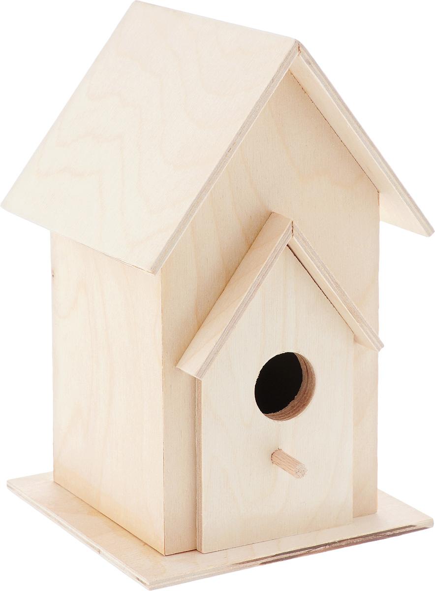 Скворечник Garden Show, 21,5 х 11,5 х 14 см466528Скворечник Garden Show, изготовленный из натурального дерева - отличный способ познакомить ребенка с природой и научить его бережно относится к животным, ухаживая за ними, но не оставляя птицу в доме. Скворечник станет замечательным украшением дачи, а щебетание птиц добавит уюта и заставит вспомнить преимущества жизни за городом. Размеры скворечника: 21,5 х 11,5 х 14 см.