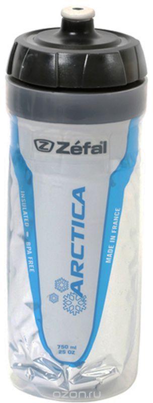 Фляга велосипедная Zefal Arctica 75, изотермическая, цвет: белый, 750 мл фляга велосипедная zefal premier 60 цвет синий белый 600 мл
