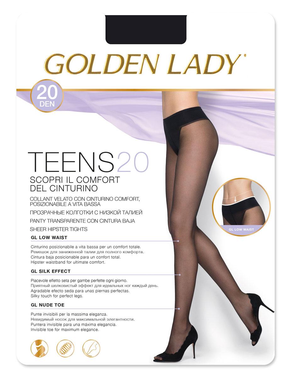 Колготки женские Golden Lady Teens 20, цвет: Melon (телесный). 39QYH. Размер 4 (L) колготки женские golden lady leda 20 цвет melon телесный 20avo размер 4 l