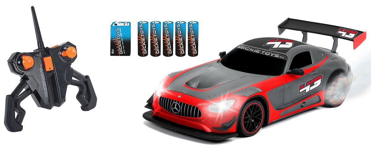 Dickie Toys Радиоуправляемая модель Mercedes-AMG GT3 dickie toys машинка bumblebee tin box