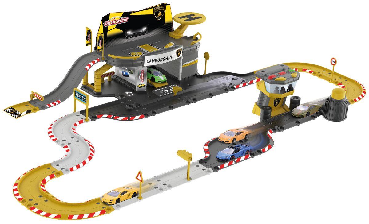 Majorette Игрушечный трек Creatix Lamborghini majorette creatix игрушечный трек starter pack