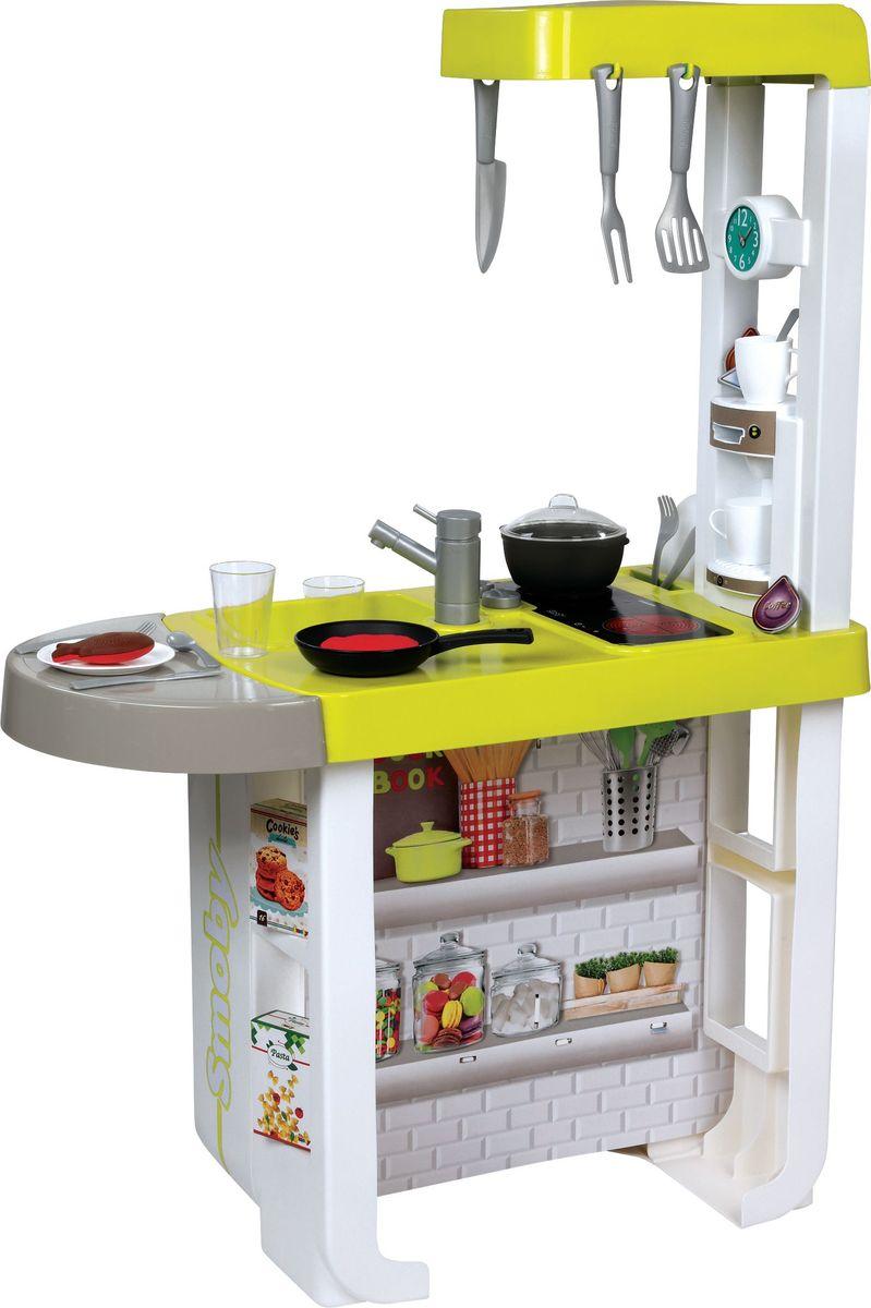 Smoby Игровой набор Кухня Cherry цвет желтый кухня игрушечная smoby smoby детская игровая кухня cherry электронная
