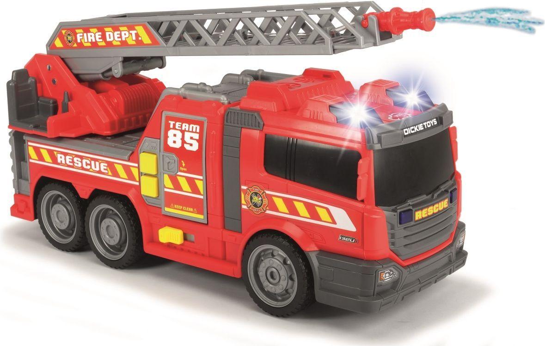 Dickie Toys Пожарная машина с водой цвет красный серый dickie toys машинка bumblebee tin box
