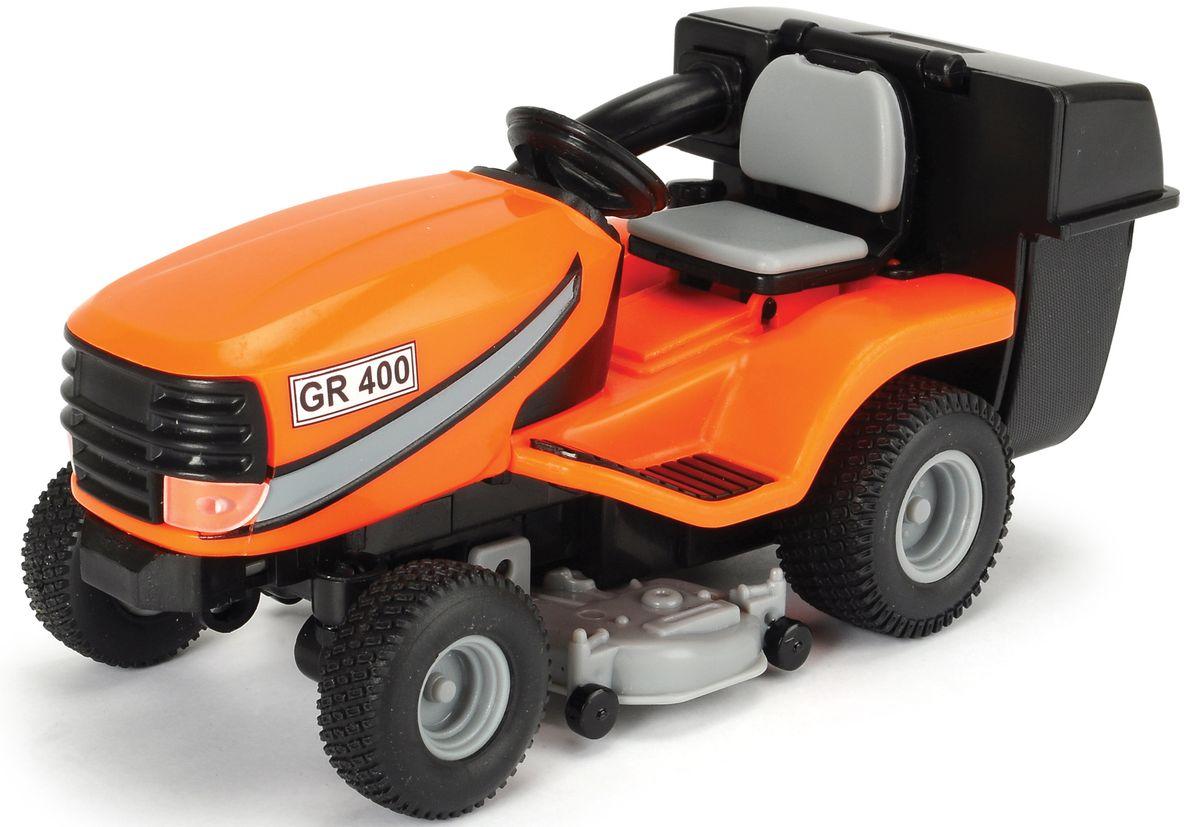 Dickie Toys Трактор садовый 1:24 dickie трактор с прицепом фрикц 42 см 3 в 1 6
