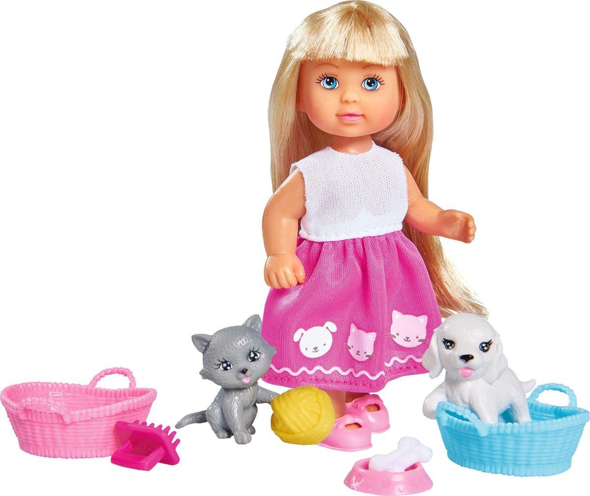 Simba Кукла Еви Домашние питомцы кукла simba еви домашние питомцы 5733044