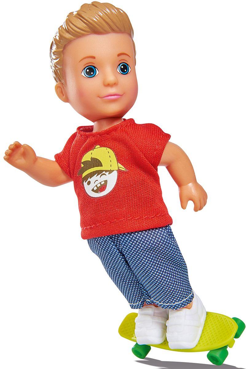 Simba Кукла Тимми Скейтбордист куклы и одежда для кукол simba кукла еви и тимми на аттракционах 12 cм