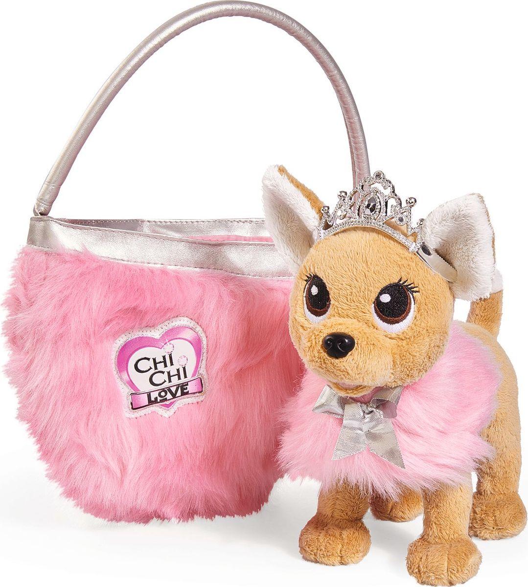 Simba Мягкая игрушка Собачка Принцесса с сумкой - Мягкие игрушки