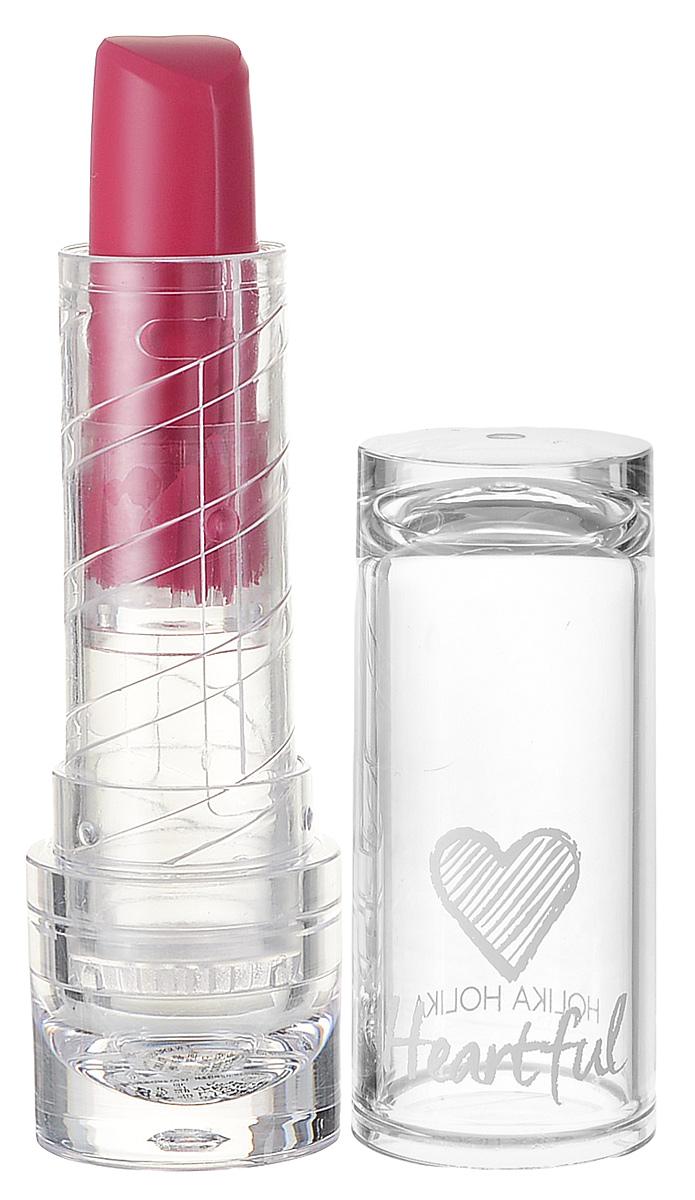 Holika Holika Матовая помада Хартфул Липстик Шифон, тон PK06, розовый, 3,5 г,20015511Помада интенсивно питает кожу губ, обеспечивает равномерное покрытие и насыщенный тон. Обладает матовым финишем.