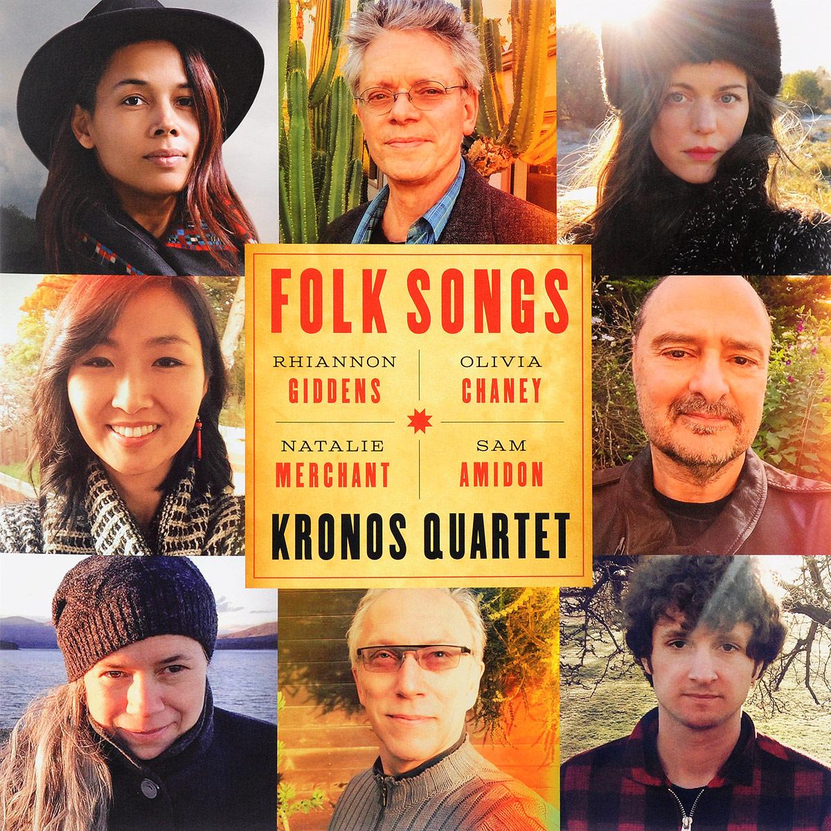 Kronos Quartet Kronos Quartet. Folk Songs (LP) виниловая пластинка kronos quartet pieces of africa