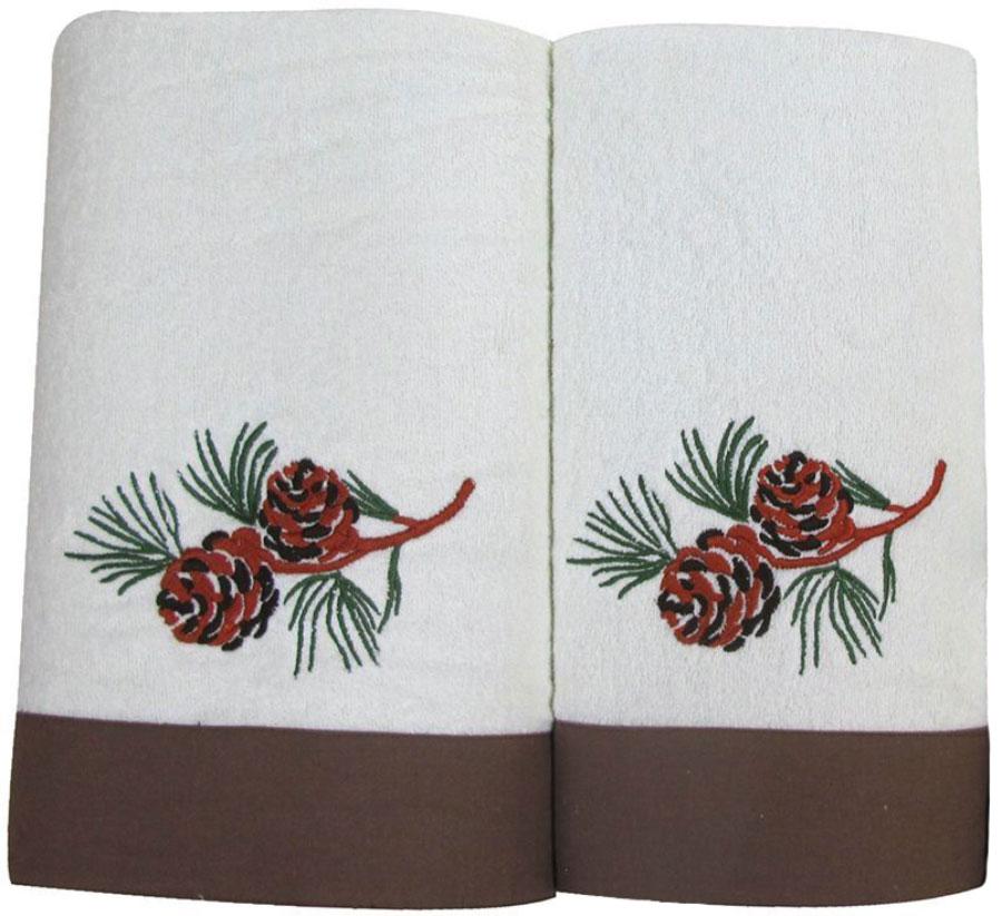 Набор махровых полотенец Bravo Ботаника, цвет: коричневый, кремовый, 45 х 90 см, 65 х 130 см, 2 шт78888Набор Bravo состоит из двух махровых полотенец, выполненных из натурального 100% хлопка. Изделия отлично впитывают влагу, быстро сохнут, сохраняют яркость цвета и не теряют формы даже после многократных стирок.Полотенца Bravo очень практичны и неприхотливы в уходе.