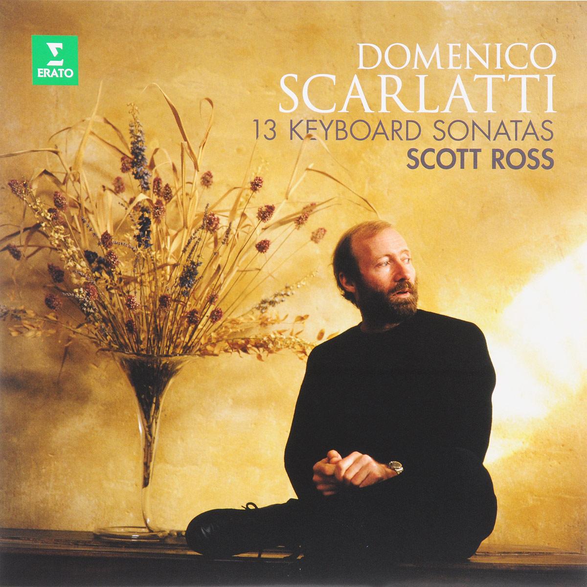 Скотт Росс Scott Ross. Domenico Scarlatti. 13 Keyboard Sonatas (LP) d scarlatti sonatas