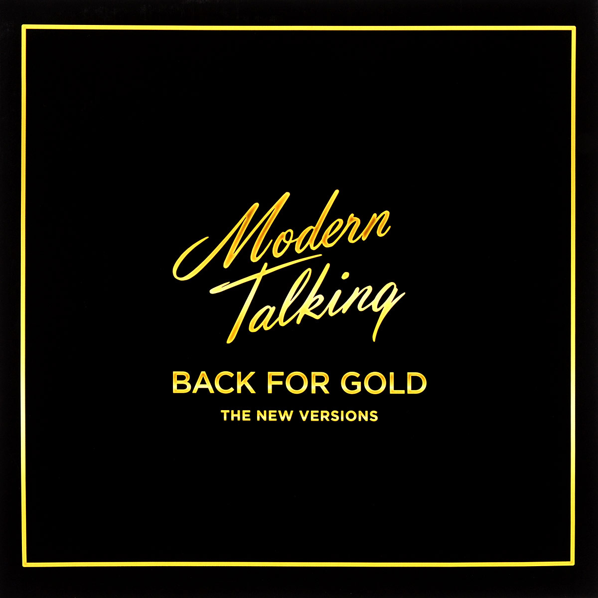 Modern Talking Modern Talking. Back For Gold. The New Versions (LP) new origrinal projector lcd panel lcx070 for sony cx120 cx130 cx131 cx161