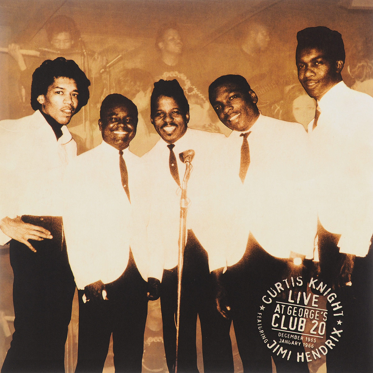 Кертис Найт,Джими Хендрикс Curtis Knight, Jimi Hendrix. Live At George's Club 20 (2 LP) виниловая пластинка the jimi hendrix experience electric ladyland