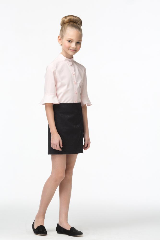 Юбка для девочки Смена, цвет: черный. 16с723-99. Размер 158/164 юбки