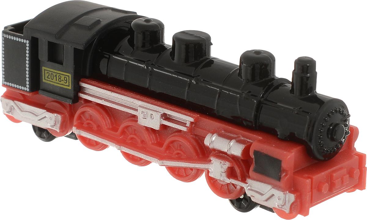 ТехноПарк Паровоз цвет черный красный nanoblock паровоз