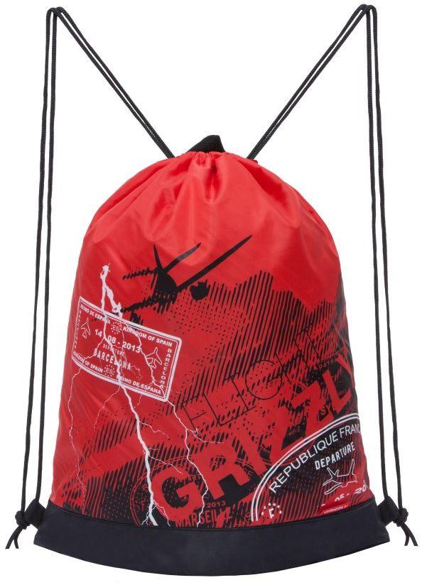 Grizzly Мешок для обуви цвет красный OM-790-5OM-790-5/1Мешок для сменной обуви Grizzly идеально подойдет как для хранения, так и для переноски сменной обуви и одежды.Мешок выполнен из прочного материала и содержит одно вместительное отделение, затягивающееся с помощью текстильных шнурков. Изделие содержит боковой карман, который застегивается на застежку-молнию. Сверху мешок дополнен петлей для подвешивания.Вашему ребенку обязательно пригодится такой аксессуар для школы!
