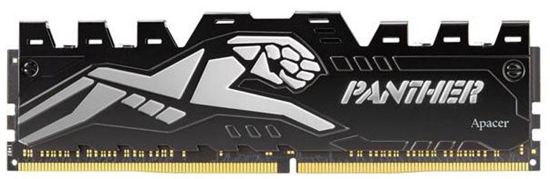 Apacer Panther Silver DDR4 8Gb 2400 МГц модуль оперативной памяти (EK.08G2T.GEF)EK.08G2T.GEFКомпания Apacer анонсирует новейший игровой модуль памяти DDR4 Panther, специально разработанный с поддержкой следующего поколения платформы Intel Skylake и Kabylake. Конструкция игрового модуля Panther DDR4 с изысканным дизайном теплораспределителя и тщательно экранированными интегральными схемами выделяется среди остальных модулей памяти DDR4. За счет использования лучших в мире технологий организации памяти и хранения данных игровой модуль памяти Panther DDR4 превосходит ожидания пользователей с точки зрения функциональности и устойчивости, а также является хорошим бюджетным вариантом.Поддерживает материнские платы Intel 100 и 200 Когтеобразный теплораспределитель повышает теплопроводность и гарантирует отличную производительность. Как собрать игровой компьютер. Статья OZON Гид