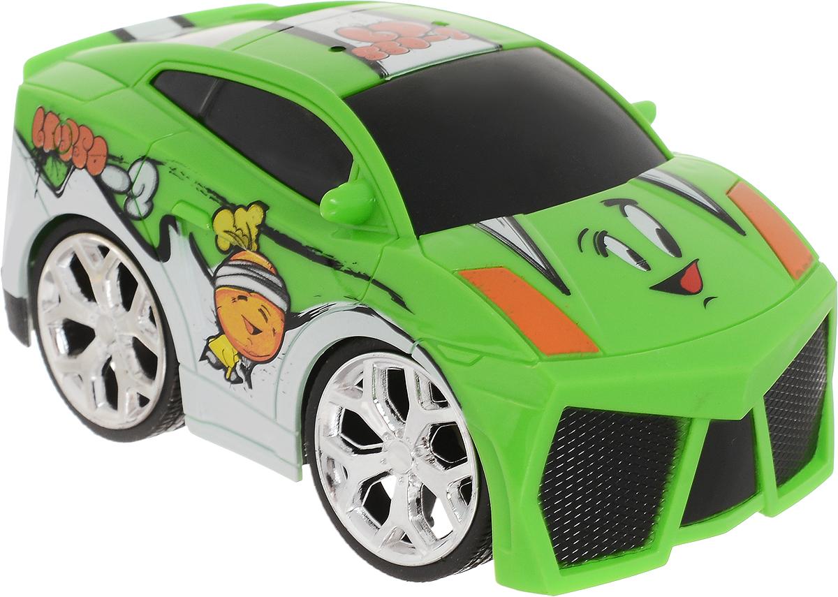 Bluesea Машинка на радиоуправлении Mini цвет белый зеленый