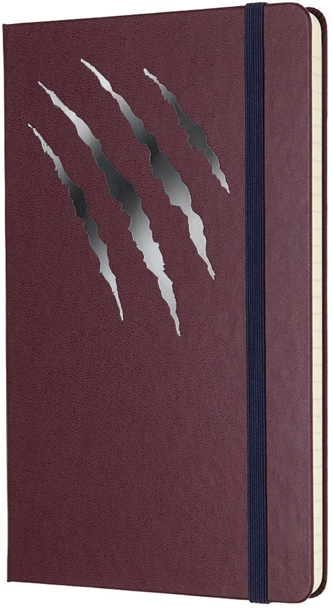 Moleskine Записная книжка Beauty and the Beast Large 120 листов в линейку цвет бордо430840Moleskine отдает дань как красивой, так и чудовищной стороне творческого процесса: грубая, сырая и часто угловатая работа, которая развивается в самые прекрасные идеи, истории и искусство. Записные книжки Beauty and the Beast ограниченного выпуска придают обоим этим аспектам одинаковое значение и приглашают вас использовать свои страницы, чтобы полюбить собственное внутреннее творческое чудовище.Неповторимые черты записной книжки Молескин: Прошитый нитками переплет;Практичные скругленные углы;Не желтеющие со временем страницы;Быстро впитывающая чернила бумага;Вместительный внутренний кармашек.