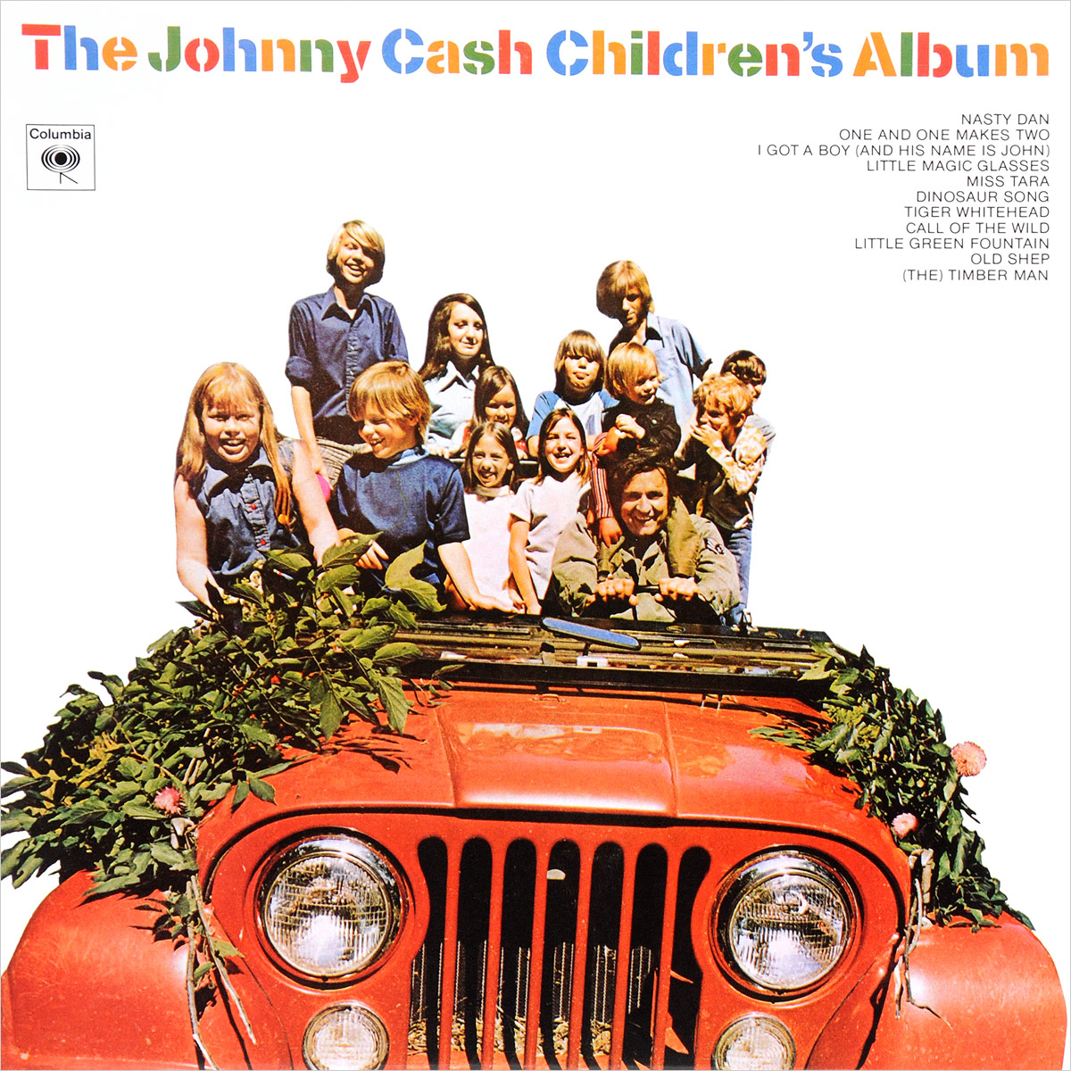 Джонни Кэш Johnny Cash. The Johnny Cash Children's Album (LP) джонни кэш johnny cash remixed