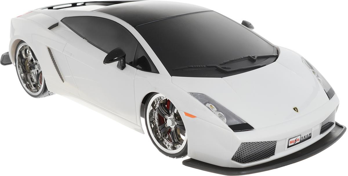 Maisto Радиоуправляемая модель Lamborghini Gallardo цвет белый maisto радиоуправляемая модель ferarri ff цвет желтый