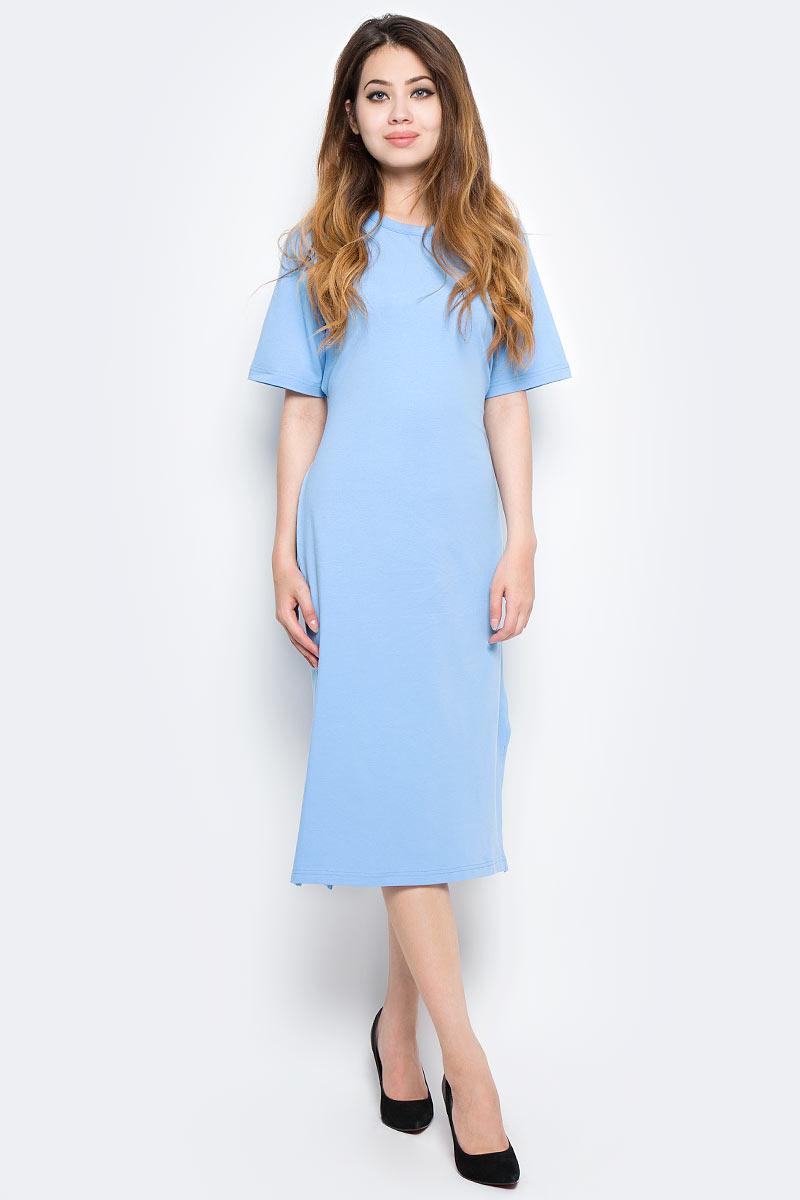 Платье Kawaii Factory, цвет: голубой. KW177-000058. Размер 42/46 платье kawaii factory цвет черный kw177 000009 размер 42 46