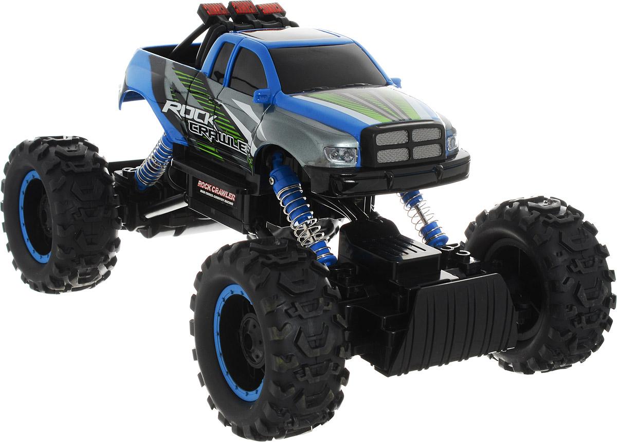 HB Машинка на радиоуправлении Краулер цвет синий машинка на пульте управления для детей