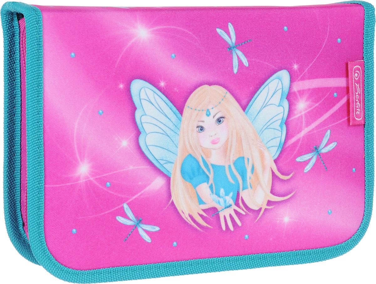 Herlitz Пенал Fairy с наполнением 31 предмет herlitz пенал butterfly dreams с наполнением 31 предмет