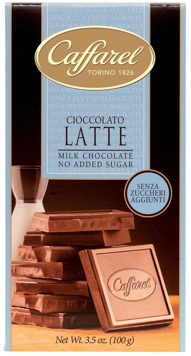 Caffarel шоколад молочный без сахара, 100 г донато карризи подсказчик