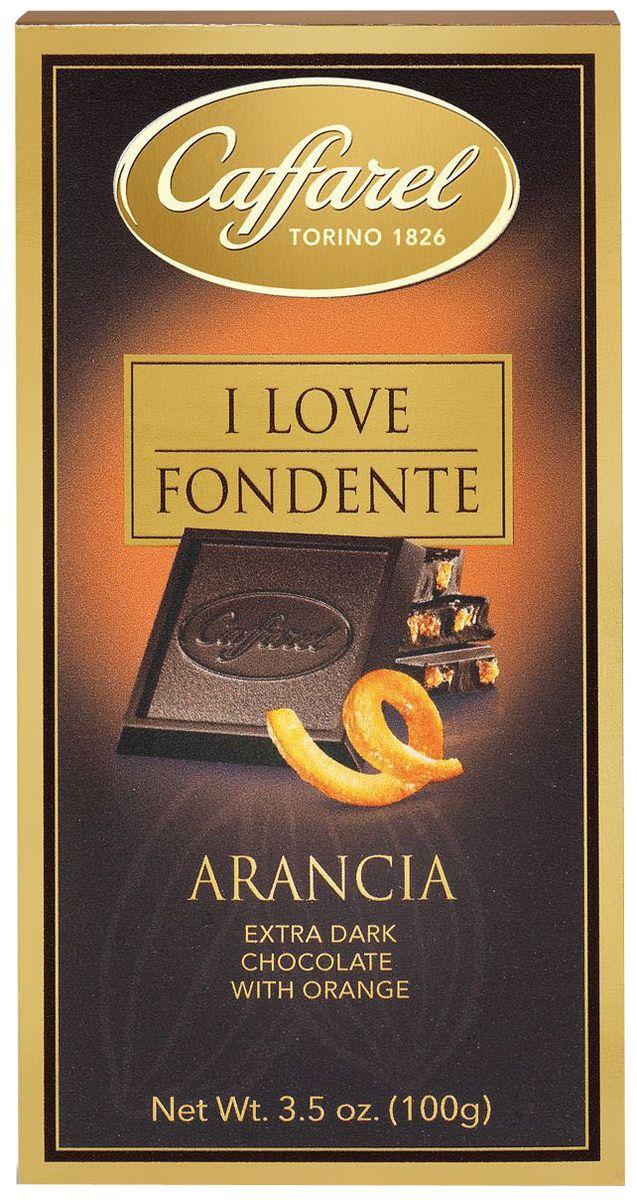 Caffarel шоколад горький 70% какао с апельсином, 100 г шоколад горький 77% какао блэкминт