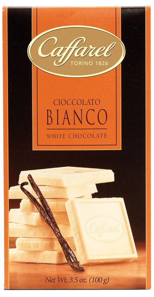 Caffarel шоколад белый со вкусом ванили, 100 г донато карризи подсказчик