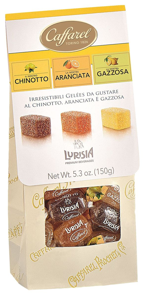 Caffarel конфеты фруктово-желейные ассорти, 150 г конфеты круглые с ромом купить в иркутске