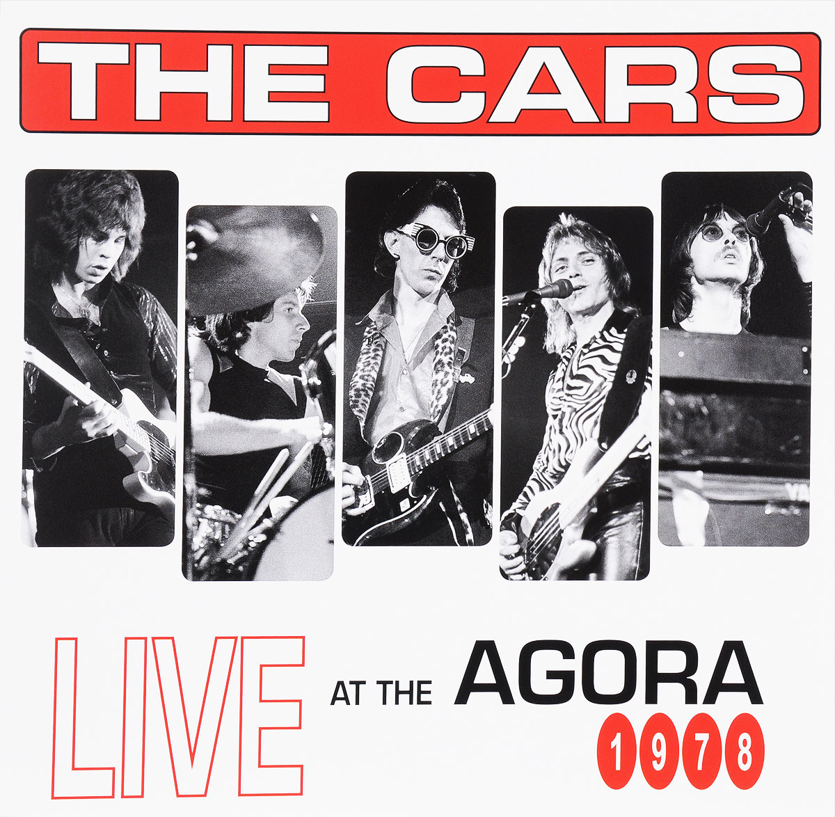 The Cars The Cars. Live At The Agora 1978 (2 LP) smokie smokie the concert live from essen 1978 2 lp