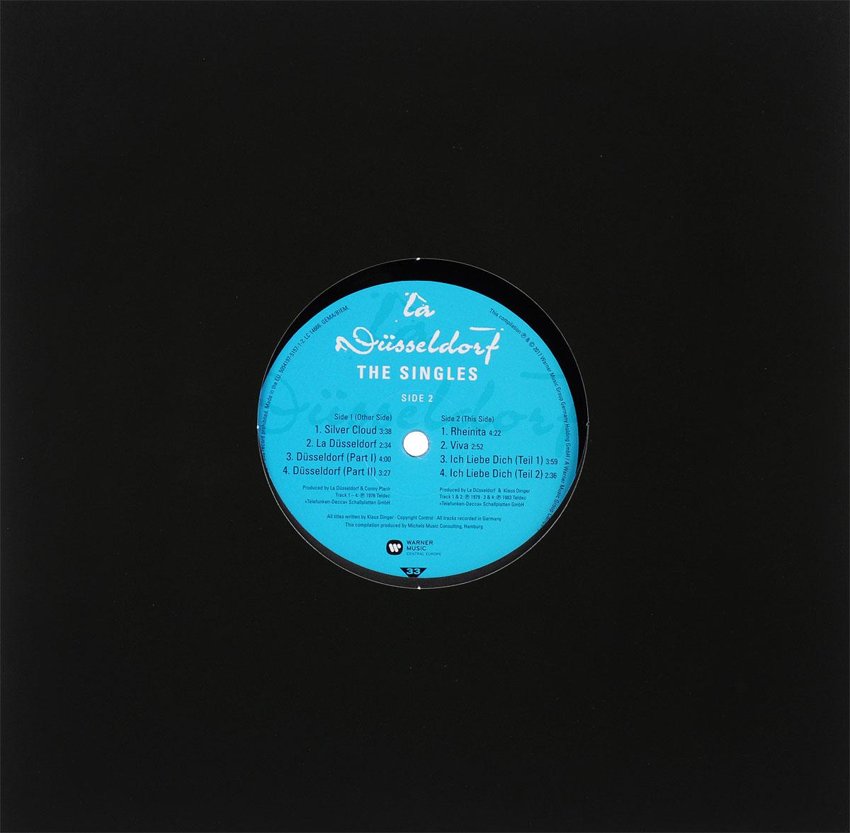 Side 1: Tracks 1-4Side 2: Tracks 5-8