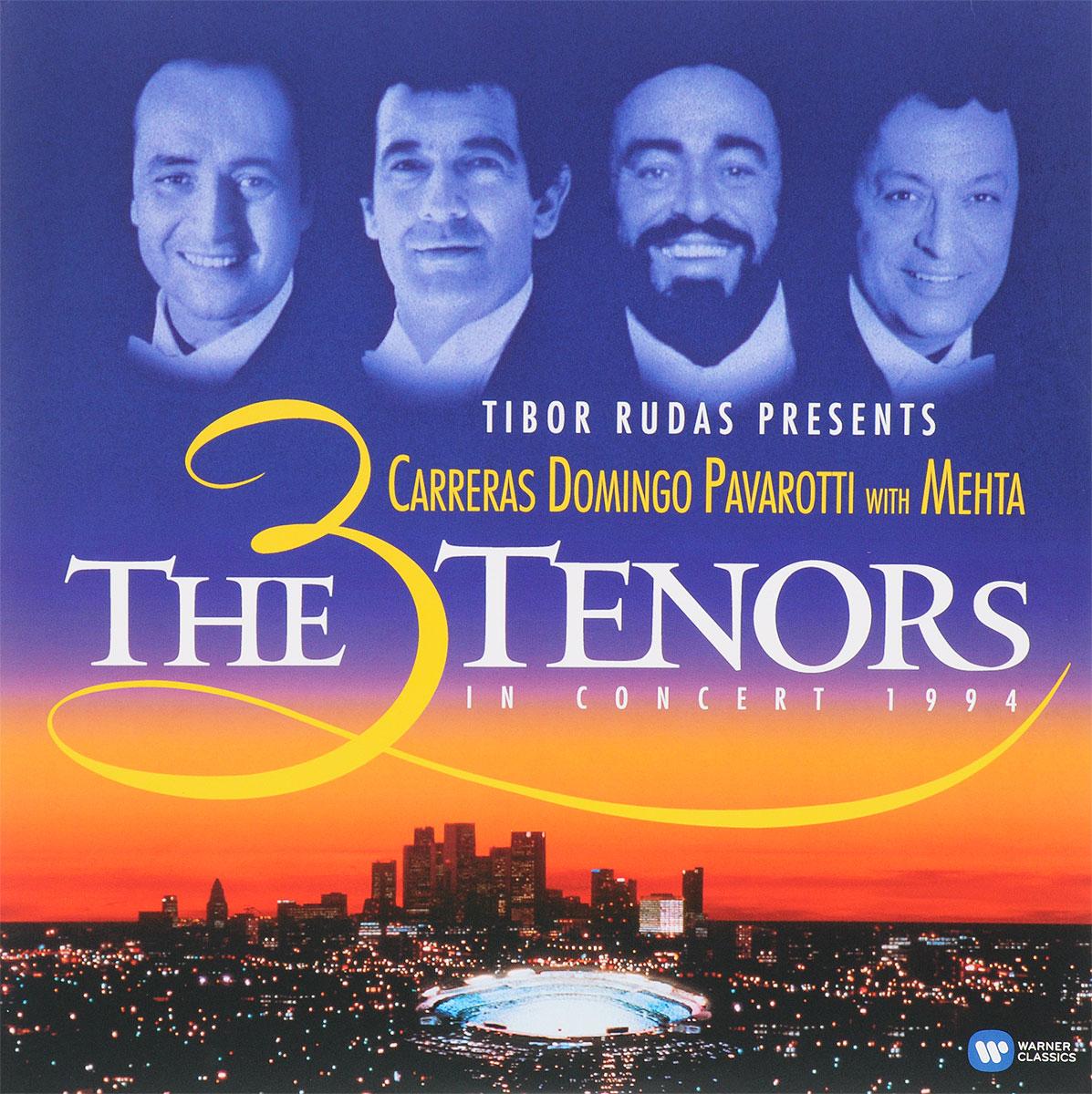 Фото The 3 Tenors,Хосе Каррерас,Плачидо Доминго,Лучано Паваротти,Зубин Мета,The Los Angeles Philharmonic,Los Angeles Music Center Opera Chorus The 3 Tenors. The 3 Tenors In Concert 1994 (2 LP)