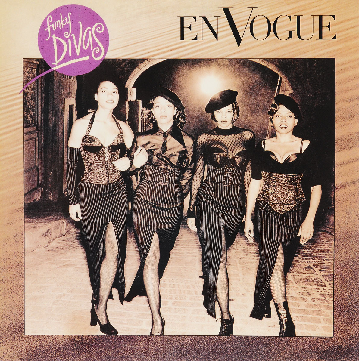 En Vogue En Vogue. Funky Divas (LP) vogue short slightly curled side parting pink women s synthetic hair wig
