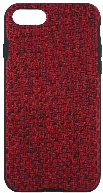 Crayon Fabric Knit чехол для iPhone 7 Plus/8 Plus, RedCRN-FCKIP7P-redЧехол изготовлен из термопластичного полиуретана (ТПУ) - материала, который не подвержен замерзанию и резким перепадам температур. То есть телефон в чехле из ТПУ не тормозит на морозе. ТПУ не подвержен деформации, устойчив к разрыву и не проводит электрический ток. Чехол из ТПУ не притягивает пыль, устойчив к царапинам и другим механическим повреждениям, обладает противоударными свойствами. Чехол не утолщает устройство, обеспечия легкий доступ ко всем функциональным клавишам телефона. Внешняя поверхность чехла выполнена из ткани с интересной текстурой. Необычно, стильно, надежно.