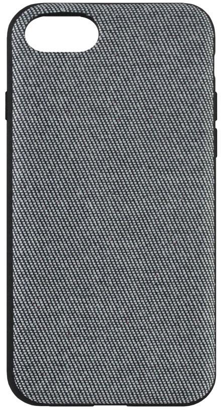 Crayon Fabric Kanvas чехол для iPhone 7 Plus, GreyCRN-FCKVIP7P-grЧехол изготовлен из термопластичного полиуретана (ТПУ) - материала, который не подвержен замерзанию и резким перепадам температур. То есть телефон в чехле из ТПУ не тормозит на морозе. ТПУ не подвержен деформации, устойчив к разрыву и не проводит электрический ток. Чехол из ТПУ не притягивает пыль, устойчив к царапинам и другим механическим повреждениям, обладает противоударными свойствами. Чехол не утолщает устройство, обеспечия легкий доступ ко всем функциональным клавишам телефона. Внешняя поверхность чехла выполнена из ткани с интересной текстурой. Необычно, стильно, надежно.