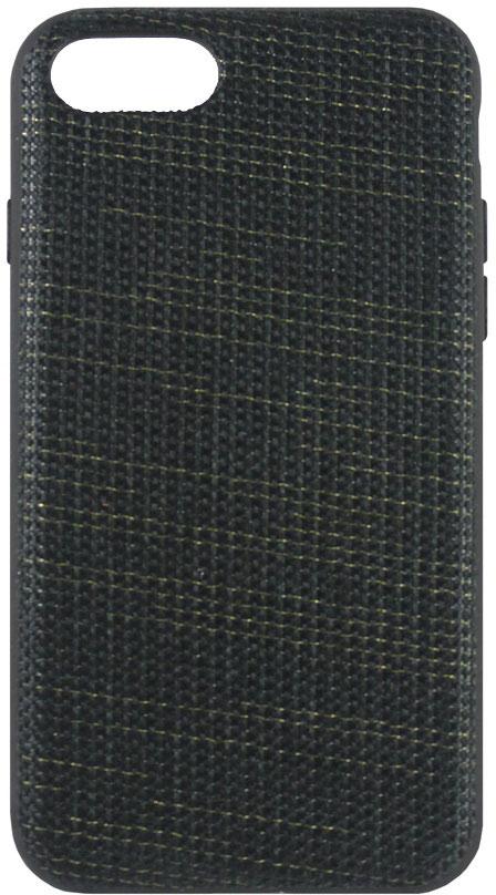 Crayon Fabric Mesh чехол для iPhone 7, BlackCRN-FCMIP7-blЧехол изготовлен из термопластичного полиуретана (ТПУ) - материала, который не подвержен замерзанию и резким перепадам температур. То есть телефон в чехле из ТПУ не тормозит на морозе. ТПУ не подвержен деформации, устойчив к разрыву и не проводит электрический ток. Чехол из ТПУ не притягивает пыль, устойчив к царапинам и другим механическим повреждениям, обладает противоударными свойствами. Чехол не утолщает устройство, обеспечия легкий доступ ко всем функциональным клавишам телефона. Внешняя поверхность чехла выполнена из ткани с интересной текстурой. Необычно, стильно, надежно.