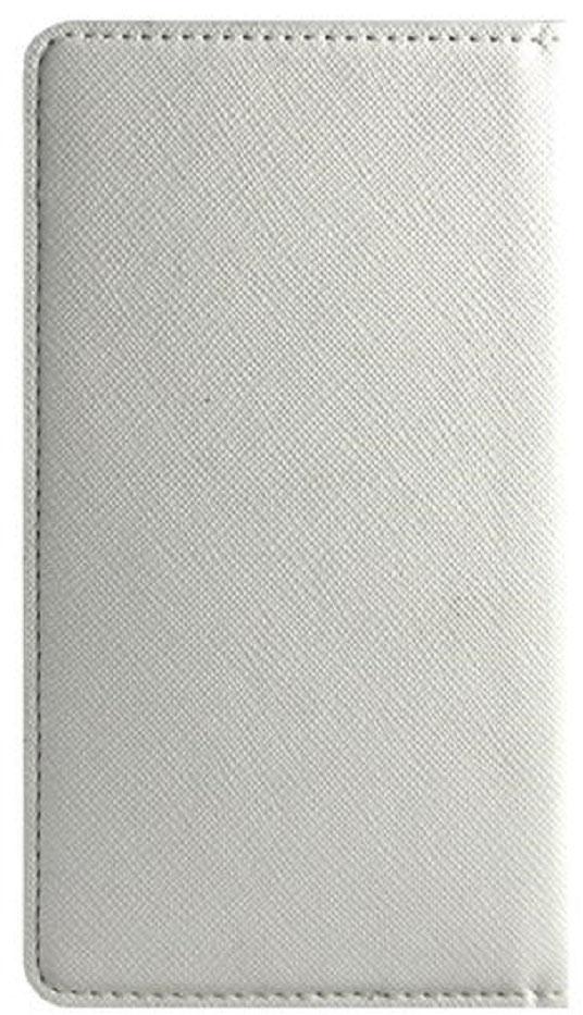Crayon Vertical универсальный чехол для смартфонов с диагональю 4.7, WhiteRN-UVP4-wНовый универсальный горизонтальный чехол для смартфонов от Vivacase. Чехол оснащен внутренними карманами для визитных и кредитных карточек. Надежное силиконовое крепление 3M не утолщает его и отлично служит даже при низких температурах. При необходимости чехол может играть роль подставки для мобильного телефона. Теперь не нужно снимать чехол с устройства, чтобы сделать фотографию. Достаточно немного загнуть обложку чехла, и камере ничто не будет мешать.