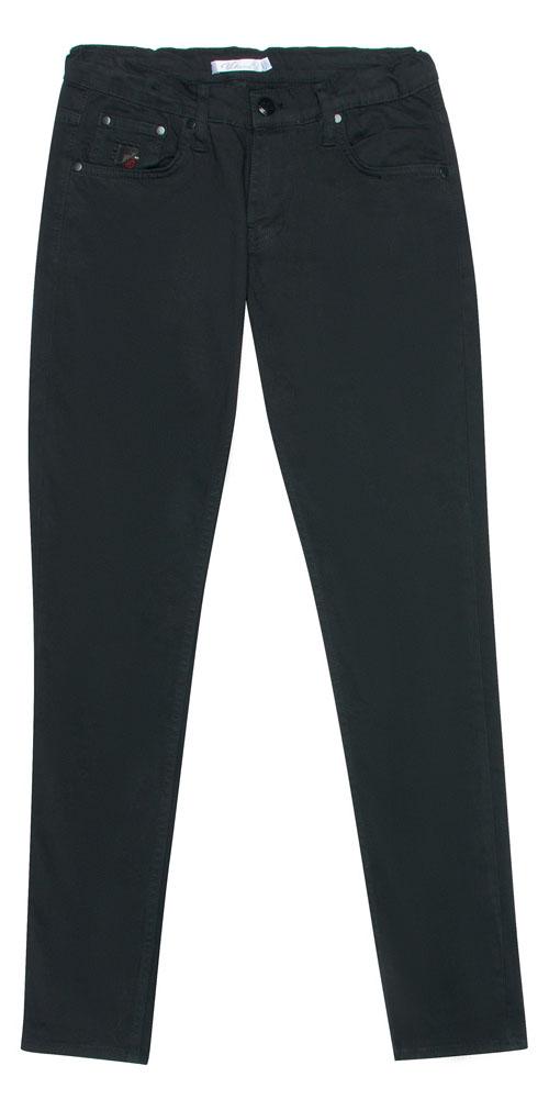 Брюки для мальчика Vitacci, цвет: черный. 1171461-03. Размер 1521171461-03Стильные брюки-джинсы для мальчика от Vitacci выполнены из вискозы и нейлона с добавлением эластана. Модель застегивается на гульфик с молнией и пуговицу. Пояс дополнен шлевками для ремня. Брюки имеют спереди два втачных кармана и один небольшой накладной кармашек. Карманы отделаны клепками.