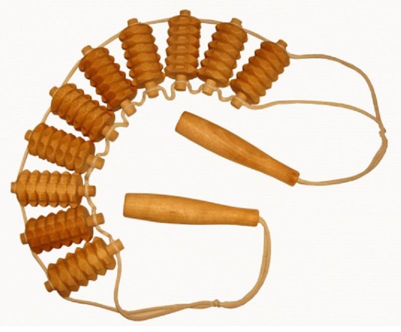 Массажер ленточный зубчатый тип 2 Тимбэ Продакшен . МА3223МА3223Ленточный массажер восточной медицине известен уже около трех тысяч лет. являясь классикой в ряду других массажеров по прежнему наиболее эффективный инструмент для профилактического массажа. Наличие длинных ручек позволит самостоятельно массировать такие труднодоступные места, как спина, плечевой пояс и шея.