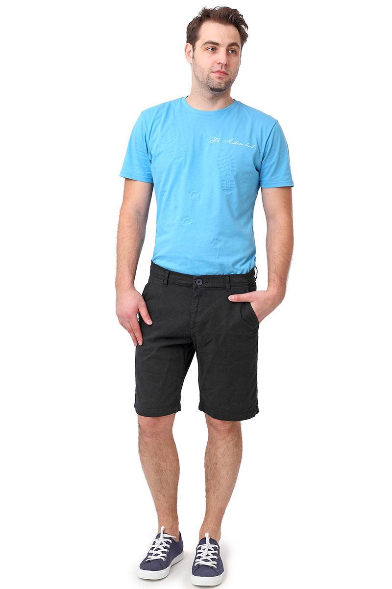 Шорты мужские F5, цвет: темно-синий. 174020_08176. Размер 29 (44/46)174020_08176, Gabardine str., dark navyМужские шорты F5 выполнены из высококачественного материала. Модель застегивается на пуговицу в поясе и ширинку на застежке-молнии, дополнены шлевками для ремня. Спереди модель дополнена двумя втачными карманами с косыми срезами.