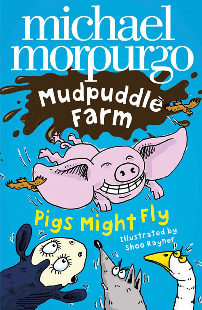 Pigs Might Fly pigs have wings